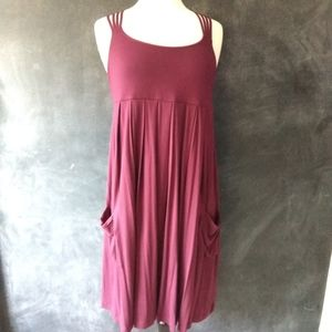 CALVIN KLEIN | Lagenlook Sleeveless Dress Size 14